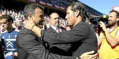 Enrique và Simeone đang rất thành công ở La Liga