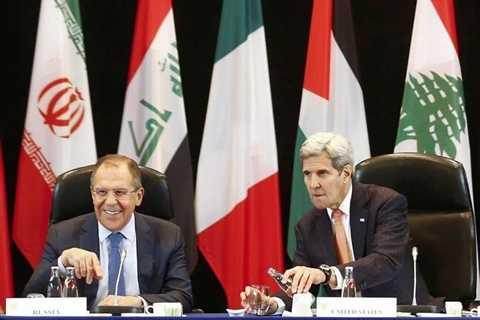 Đại diện các bên tham gia cuộc họp quốc tế về khủng hoảng Syria ngày 11/2