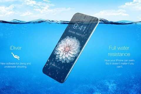 iPhone mới được coi là có khả năng chống nước mạnh mẽ
