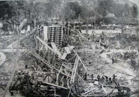Cao Bằng bị tàn phá trong cuộc chiến 1979   Ảnh tư liệu