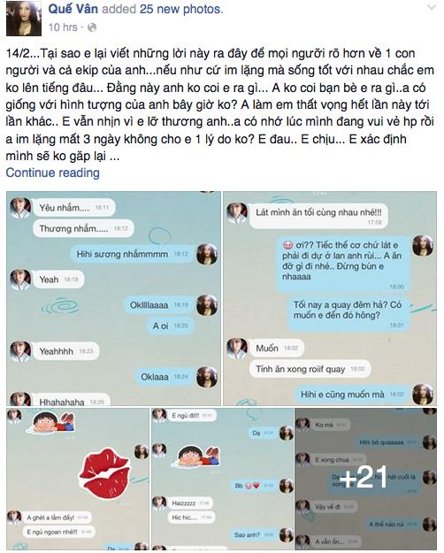 Tâm thư của Quế Vân gửi Trường Giang.