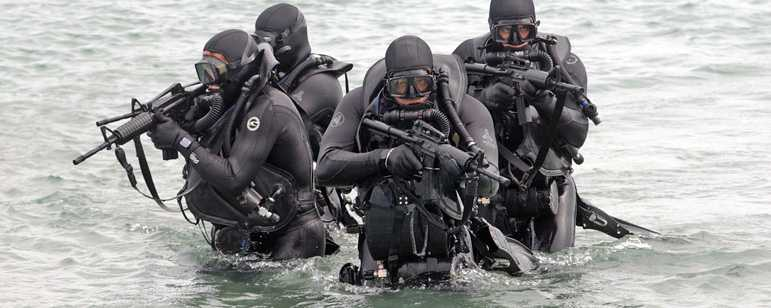 Biệt kích SEAL luyện tập - Ảnh minh họa
