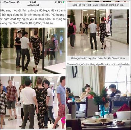 Vợ đại gia kim cương chia sẻ hình ảnh Hà Hồ cùng chồng chị đi du lịch Thái Lan