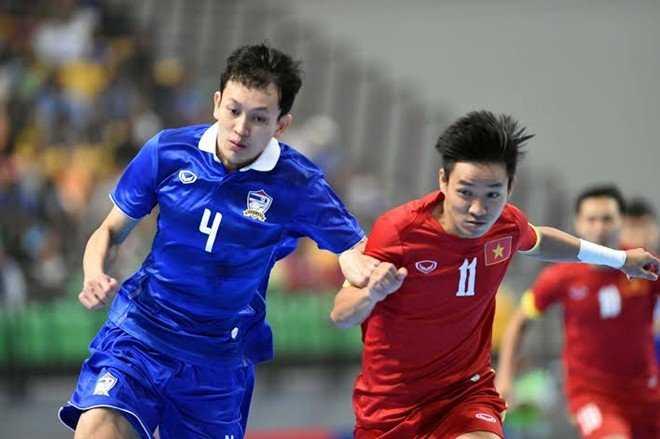 ĐT Futsal Việt Nam vs Thái Lan