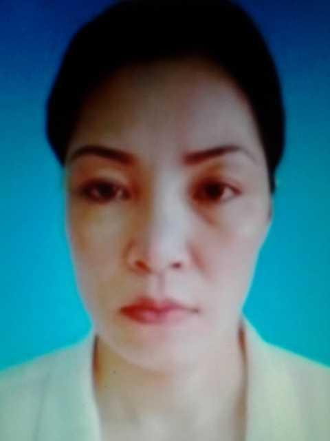 Chân dung nữ tử tù Nguyễn Thị Huệ.