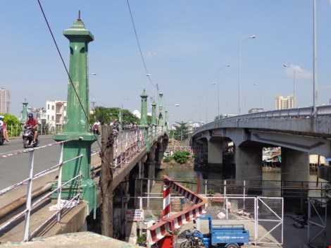 Cầu mới sẽ phục hồi những nét của cầu cũ, cổ như lan can, trụ đèn…