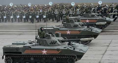 """Nga lọt top 3 'thủ lĩnh quân sự"""" thế giới năm 2016"""