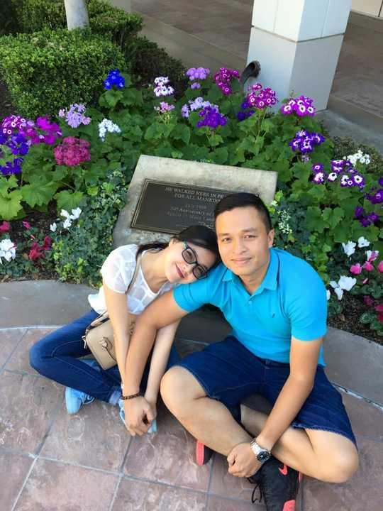 Mùng 5 Tết vừa qua, Thanh Ngọc cùng chồng đã cùng nhau đón Xuân muộn và mùa lễ tình nhân tại Mỹ trong 3 tuần.