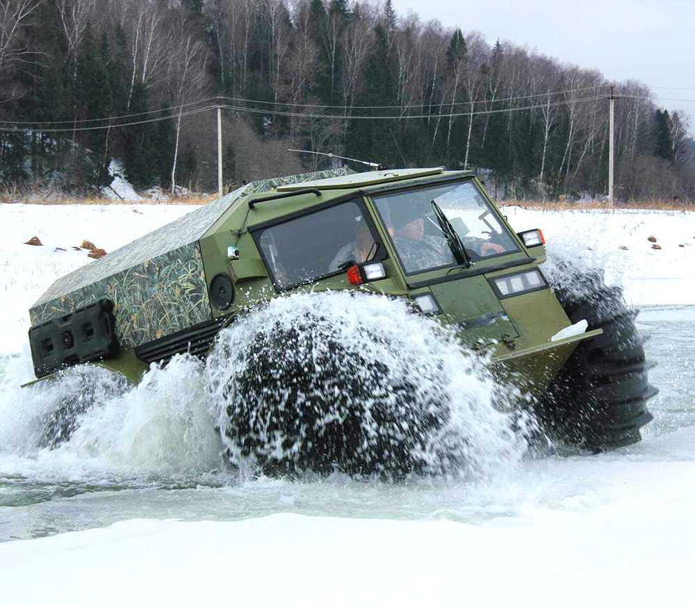 Sherp ATV - Chiếc xe được cho là sinh ra để chống chọi với điều kiện hậu tận thế nếu nó xảy ra