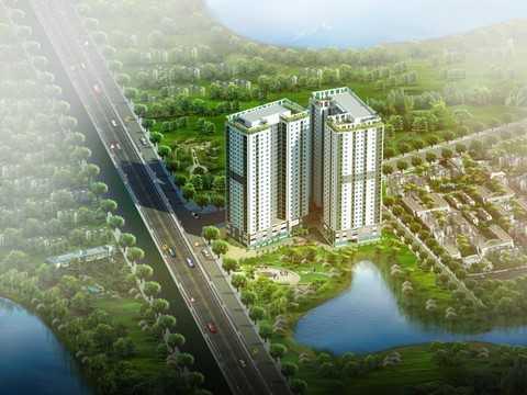 Hateco Hoàng Mai: Tòa nhà có view công viên đẹp nhất Hà Nội