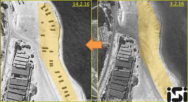 Ảnh vệ tinh cho thấy Trung Quốc đưa tên lửa lên đảo Phú Lâm