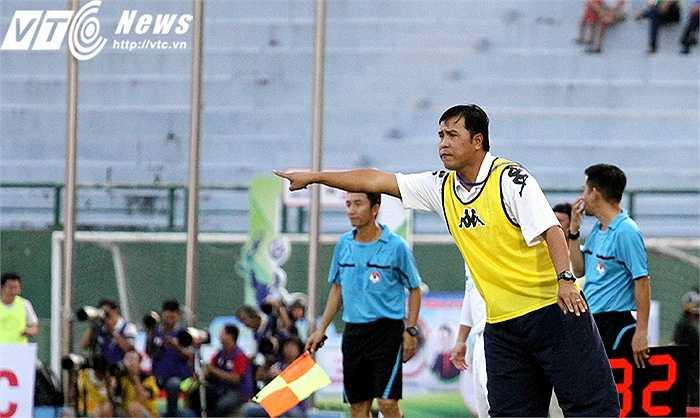 Có trong tay chiến thắng 2-0 đầu tay ở ngày mở màn, HLV Nguyễn Thanh Sơn tự tin hướng đến việc bảo vệ thành công ngôi vô địch V-League