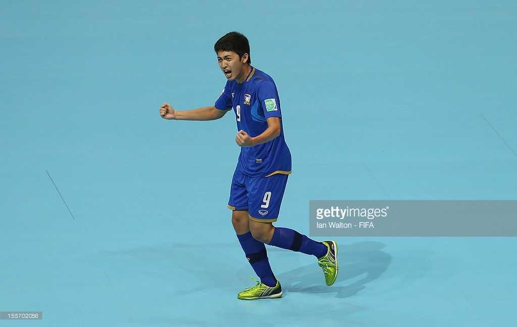 Suphawut Thueanklang - cầu thủ futsal xuất sắc nhất Thái Lan hiện tại
