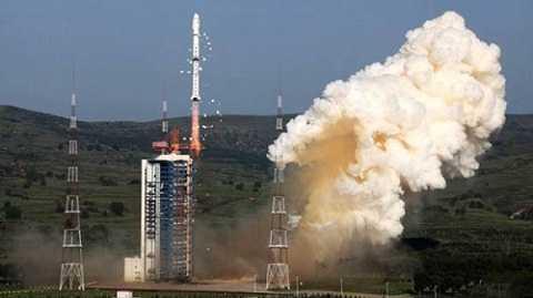 Một vụ thử tên lửa của Trung Quốc
