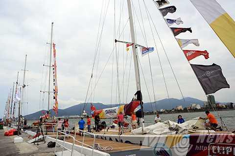 Đà Nẵng, người dân, tham quan, thuyền buồm, Clipper race, cảng Sông Hàn