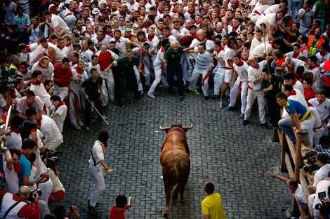 Lễ hội San Fermin ở Tây Ban Nha