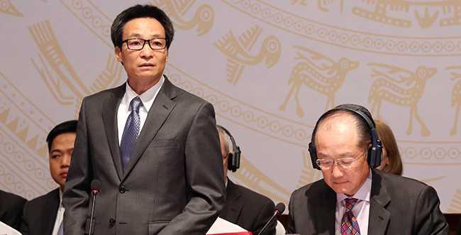 Phó Thủ tướng Vũ Đức Đam phát biểu tại buổi lễ. Ảnh: VGP/Đình Nam