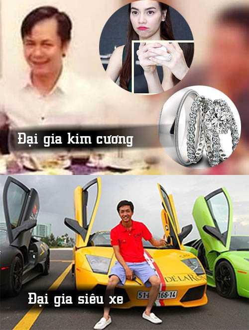 Mỗi người nổi danh ở một lĩnh vực riêng: Quốc Cường đại gia siêu xe còn Chu Đăng Khoa đại gia kim cương.