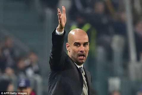 Guardiola không giấu được sự bực tức sau trận hòa Juventus