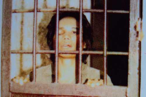 Tướng cướp một mắt Hồ Văn Xê tại trại giam Công an Hiệp Đức. Ảnh. Tư liệu công an.