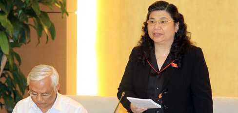 Phó Chủ tịch Quốc hội Tòng Thị Phóng