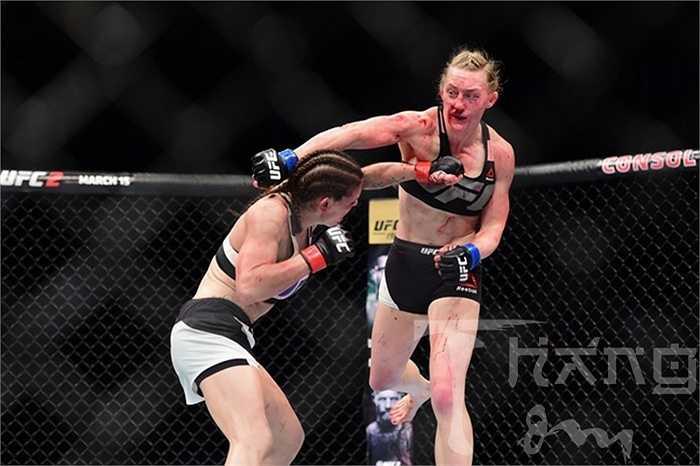 Lauren Murphy, 32 tuổi, chưa có chiến thắng nào trong 2 lần thượng đài UFC trước đó