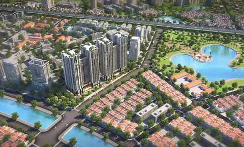 Five Star Gaden tọa lạc tại trung tâm quận Thanh Xuân, cạnh hồ điều hòa Hạ Đình