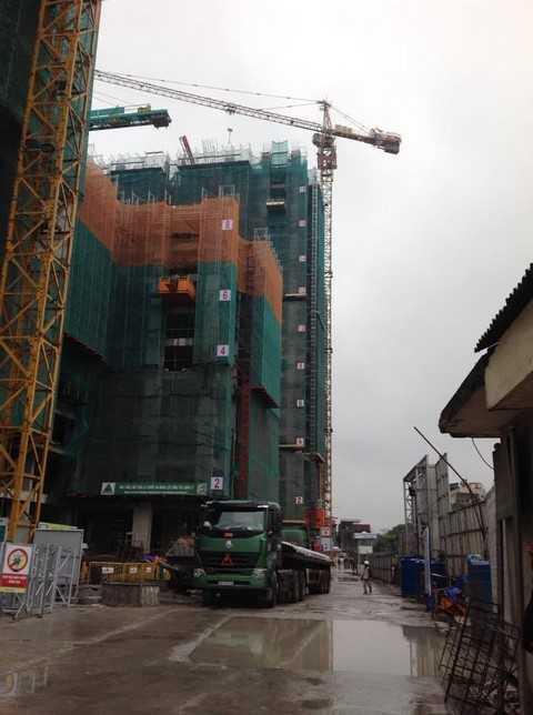 Tầng mẫu được xây dựng tại tầng 9 tòa G1 dự án Five Star Garden – số 2 Kim Giang