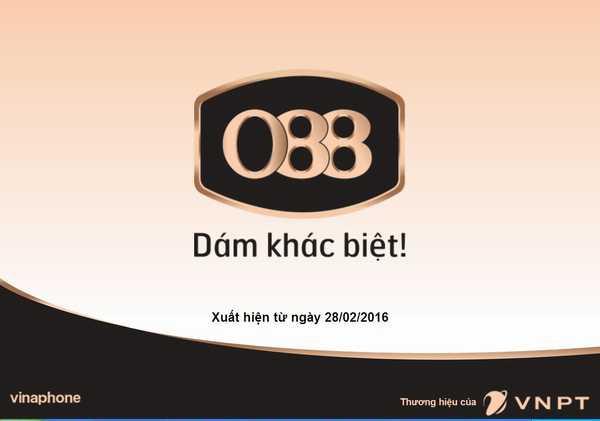 Giao diện của website http://088.vinaphone.vn mà khách hàng có thểđăng ký để sử dụng đầu số song phát 088
