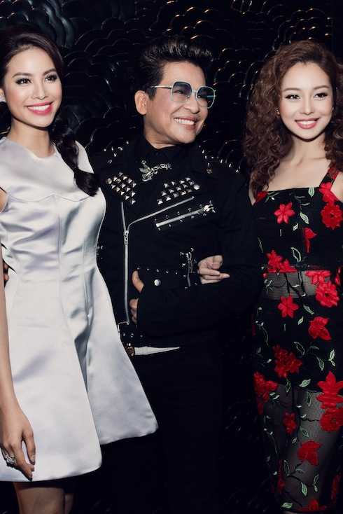 Buổi tiệc còn có sự góp mặt của Hoa hậu Phạm Hương.