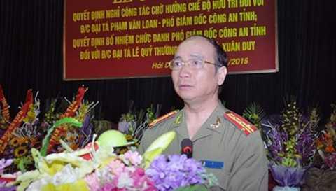 Đại tá Bùi Ngọc Phi. Ảnh: internet