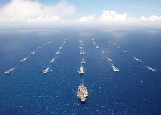 Các tàu từng tham gia cuộc tập trận RIMPAC