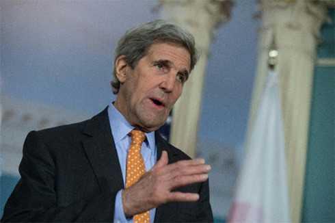 Ngoại trưởng Mỹ John Kerry lo ngại về các hành động quân sự hóa của Trung Quốc trên Biển Đông