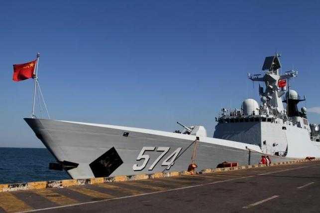 Chiến hạm Trung Quốc ở Campuchia