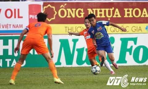 Mùa giải trước ở trận lượt đi trên sân nhà Pleiku, HAGL đã đánh bại SHB Đà Nẵng 1-0.