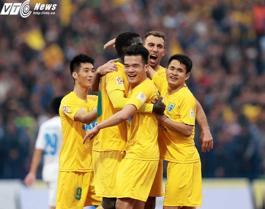 FLC Thanh Hóa đang khởi đầu V-League 2016 rất tốt (ảnh: Hải Đăng)