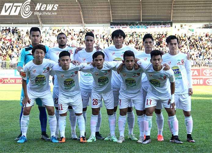 Bước vào trận đấu thứ 2 tại V-League 2016, HAGL duy trì được độ hưng phấn sau chiến thắng 5-0 trước CLB Hà Nội ở ngày đầu ra quân