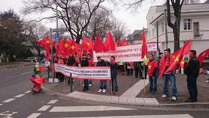 Cuộc biểu tình diễn ra trong trật tự