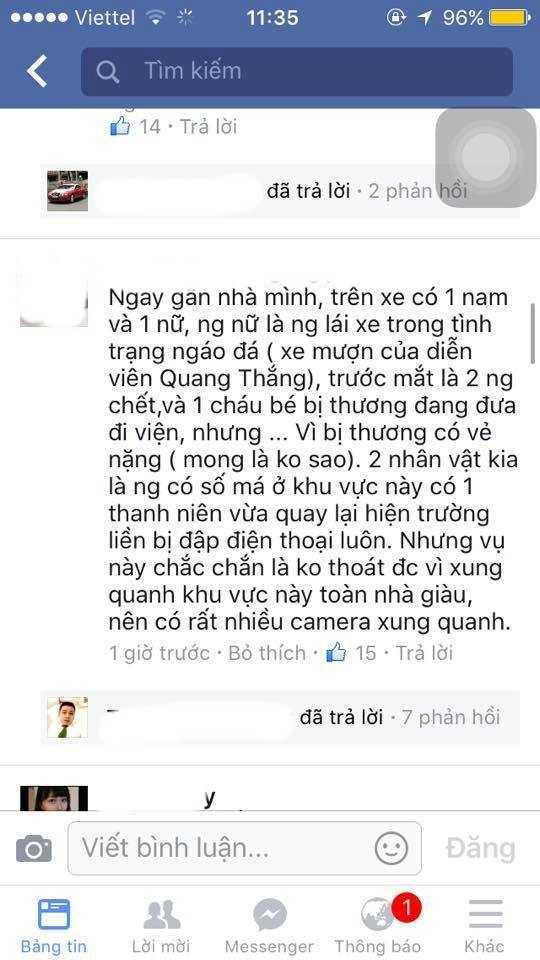 Tin đồn xe Camry là của diễn viên Quang Thắng lan truyền trên mạng xã hội