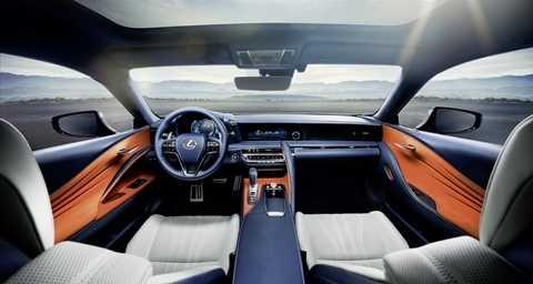 dong co hybrid kieu moi xuat hien tren lexus lc500h 3 Lexus cho động cơ hybrid mới xuất hiện trên LC500h