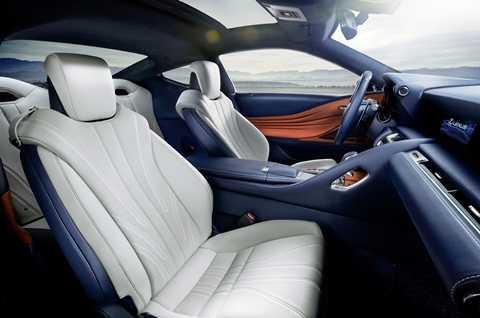 dong co hybrid kieu moi xuat hien tren lexus lc500h 4 Lexus cho động cơ hybrid mới xuất hiện trên LC500h