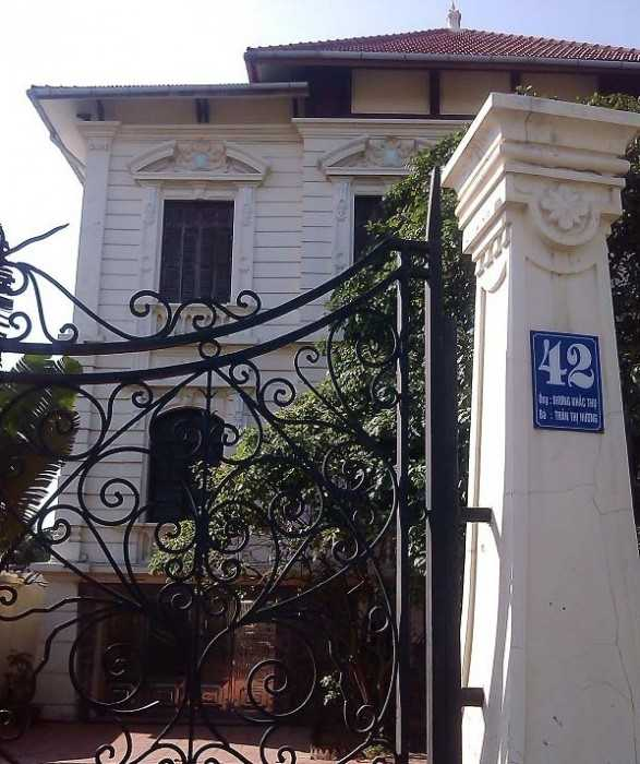Nhà của ông Dương Khắc Thụ ở Hải Phòng.