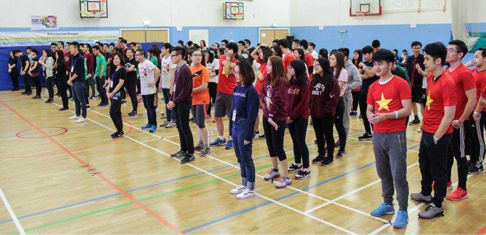 """""""Sport Day London 2016"""" thu hút sự tham gia của 10 đội chơi đến từ 10 trường đại học ở Vương quốc Anh"""