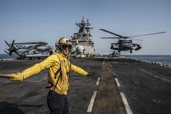 Sàn tàu USS Essex