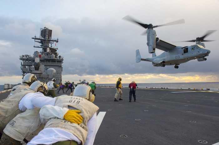 Một nhiệm vụ bay trên tàu USS Bonhomme Richard