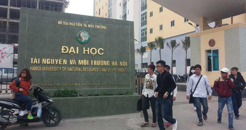 Trường ĐH Tài nguyên-Môi trường Hà Nội. (Ảnh: Văn Chung).