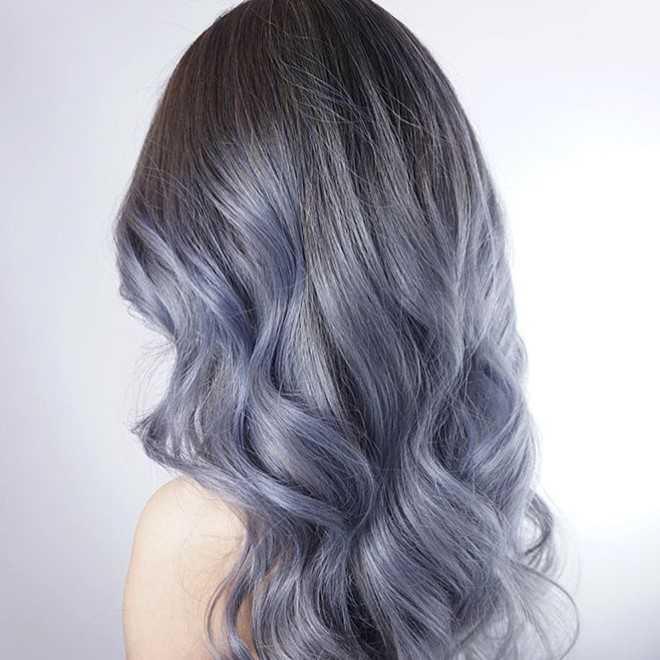 Nhuộm tóc denim