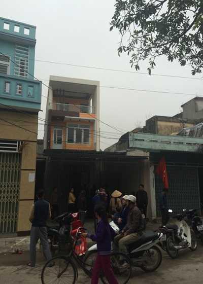 Căn nhà nơi phát ra tiếng nổ, nghi là tiếng súng
