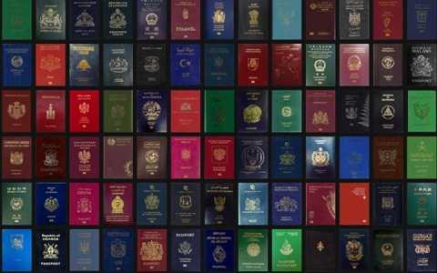 Mỗi một quốc gia lại chọn cho mình một màu sắc riêng trên tấm hộ chiếu