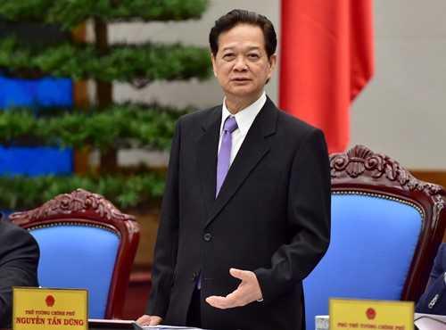 Thủ tướng Nguyễn Tấn Dũng. Ảnh: VGP